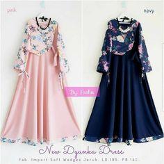 48 Ideas Dress Hijab Motif For 2019 Batik Fashion, Skirt Fashion, Fashion Dresses, Dress Pesta, Dress Anak, Frocks For Girls, Dresses Kids Girl, Muslim Fashion, Hijab Fashion