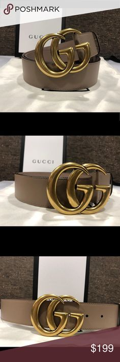 b49106fa06e4 New pink brass Gucci belt!!! Athen. Gucci belt Made in Italy Comes