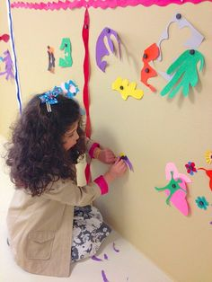 Two art projects for kids using paper cut-outs inspired by Henri Matisse~ BuggyandBuddy.com