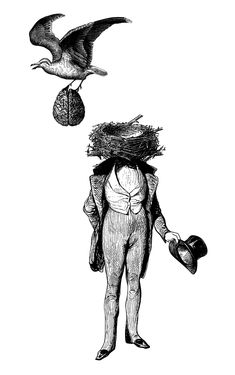 Bizarre Victorian-Inspired illustrations by Olex Oleole