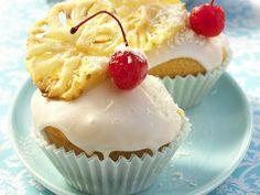 Muffins: Piña-Colada-Muffins