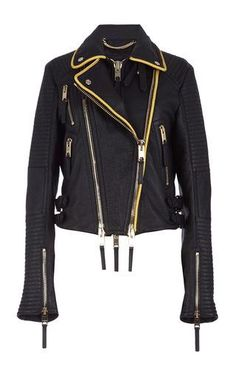 The biker jacket by BURBERRY PRORSUM for Preorder on Moda Operandi