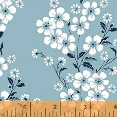 Another Point of View - Sweet Florals - Bouquet in Soft Blue