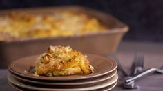 Baked Pasta with Butternut Squash, Sausage & Ricotta