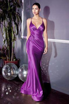 Satin Gown, Satin Dresses, Silk Dress, Long Satin Dress, Green Satin Dress, Satin Nightie, Purple Satin, Metallic Dress, Gold Evening Gowns