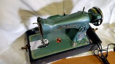 Vintage Baldwin Sewing Machine