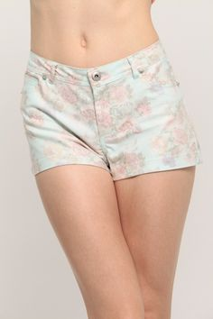 "What can we say Floral on almost anything is the best! ""Floral Print Denim Shorts"" not only are they a cute floral print but also are convenient for the upcoming hot weather. Check them out on www.cicihot.com #cicihot #fashion #floralprint #floral #shorts #fashionista #springfashion #springstyle #trendy #love"