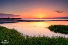 Colorful Cape Cod sunset