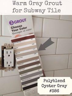 grout color for FLOOR. Bathroom. White hexagonal floor tiles.