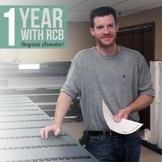 Happy 1 Year #Workiversary Brendan!