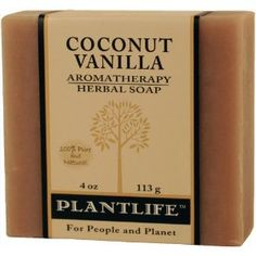 Coconut Vanilla 100% Pure & Natural Aromatherapy Herbal Soap! $3.50