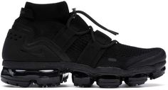 Buy and sell authentic Nike Air VaporMax Utility Triple Black shoes and thousands of other Nike sneakers with price data and release dates. Black Shoes, All Black Sneakers, Sneakers Nike, Nike Vapormax Flyknit, Kicks Shoes, Best Shoes For Men, Mens Boots Fashion, Triple Black, Nike Air Vapormax