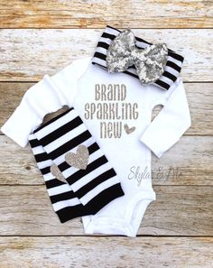 Baby girl clothes Baby girl clothing coming home by SkylarnMe