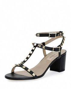 d88cef866e VALENTINO ROCKSTUD T-STRAP 60MM SANDAL. #valentino #shoes #sandals  #Designerhandbags
