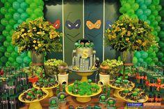 Decoração de Festa Infantil As Tartarugas Ninja - Ninja Turtles