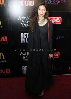 Mahira Khan at the trailer launch of Fahad Mustafa & Mehwish Hayat starrer film 'Actor in Law'