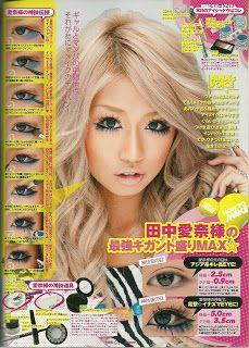 Gyaru make up Lolita Makeup, Gyaru Makeup, Lolita Hair, Diy Beauty Makeup, Kawaii Makeup, Fairy Makeup, Mermaid Makeup, My Beauty, Gothic Makeup