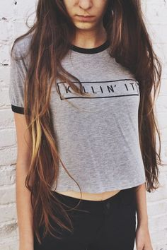 Brandy ♥ Melville | Nadine Killin It Top - Graphics
