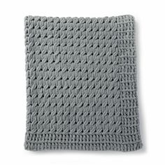 Yarnspirations is the spot to find countless free easy knit patterns, including the Bernat Alize EZ Textures Blanket. Browse our large free collection of patterns & get crafting today! Finger Knitting, Arm Knitting, Finger Crochet, Christmas Knitting Patterns, Crochet Patterns, Blanket Patterns, Craft Patterns, Crochet Wall Hangings, Crochet Yarn