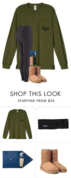 """""""i want contacts"""" by blonde-prepster ❤ liked on Polyvore featuring Patagonia, Urban Decay, STOW and UGG"""