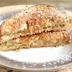 Caramelized Banana Sandwich @keyingredient #honey #sandwich #vegan #bread