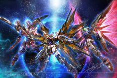 beam_rifle destiny_gundam earth energy_gun english_text eske glitter gundam gundam_seed gundam_seed_destiny highres infinite_justice_gundam mecha mechanical_wings no_humans shield signature space strike_freedom_gundam thrusters weapon wings Gundam 00, Gundam Wing, Folder Image, Mecha Suit, Strike Gundam, Gundam Astray, Gundam Wallpapers, Gundam Mobile Suit, Unicorn Gundam