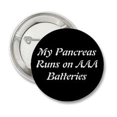 Battery Button from Zazzle.com