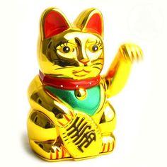 Mimi Blog: - Gatos de la Fortunas. Zhaocai mao en China y Maneki neko en Japón