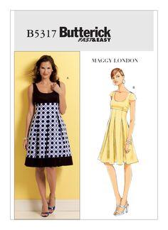 B5317 | Butterick Patterns
