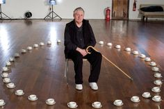 Storm Thorgerson (born 1944) is an English graphic designer, known for his work for rock bands such as Scorpions, Pink Floyd, Led Zeppelin, Black Sabbath, 10cc, Dream Theater, The Mars Volta, Muse, Umphrey's McGee, The Cranberries, Biffy Clyro among other projects.
