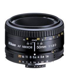 Used Nikon AF 50mm f1.8D Lens