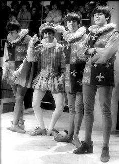 John Lennon, Richard Starkey, George Harrison, and Paul McCartney (Fun!)