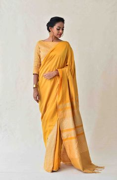 Laid-Back Luxury Collection . Sari, Handloom Saree, Saree Collection, Cotton Saree, Indian Outfits, Color Combinations, Hand Weaving, Luxury, Chic