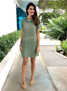 Meninas, como na semana passada fiz um post para mulheres com pouco bumbum e pouca cintura, hoje o post é especial para as mulheres com Tronco Largo -...