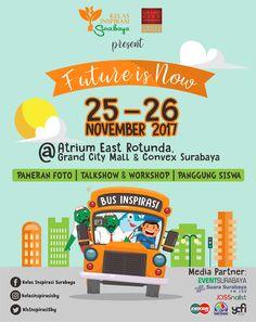 Event Poster Roadshow Kelas Inspirasi Surabaya