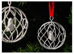 merry bird - christmas ornament