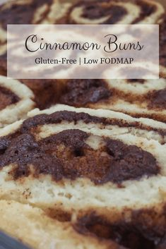 Healthy Meals For Kids Looking for a FODMAP friendly idea for your next brunch? Check out these low FODMAP cinnamon buns. Light and fluffy, with a classic cinnamon filling, these cinnamon rolls make a delicious breakfast, dessert, or snack. Fodmap Dessert Recipe, Fodmap Recipes, Dessert Recipes, Fodmap Foods, Dinner Recipes, Keto Foods, Fodmap Breakfast, Breakfast Dessert, Breakfast Recipes