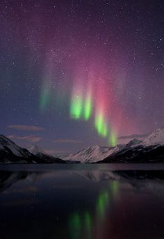 Northern Lights --Someday I am going to go to Alaska or Norway and stay there until I see some lights!!!