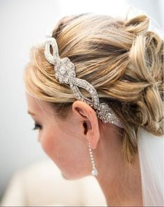 Wedding headband?  Absolutely.