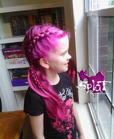 Braided Pink Hair Today Cool Hairstyles Braids Rosa
