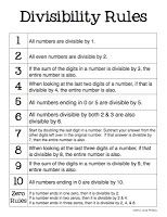 best divisibility rules images  teaching math divisibility  caught in the middle divisibility rules math multiplication math  math  enrichment