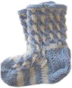 kukonaskelsukka Knitting For Kids, Knitting Socks, Baby Knitting, Knit Socks, Knit Baby Dress, Mittens, Knitting Patterns, Knit Crochet, Slippers