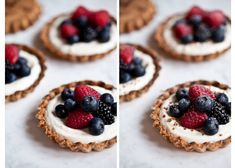 Shortbread Plates with Mascarpone & Berries Recipe Fruit Recipes, Sweet Recipes, Dessert Recipes, Cake Recept, Cookie Time, Pastry Shop, Seasonal Food, Homemade Desserts, Dessert Drinks