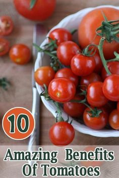 Benefits Of Tomatoes: Tomatoes have high water content, they work perfect as filling food.