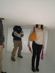 installation @Danijel Meshtrovich Meshtrovich Kurinčič exhibition by JJ*, via Flickr