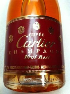 Cuvee Cartier Champagne Brut Rose