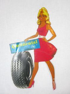 PUblicité vintage Continental. Tous les pneus Continental sur Allopneus c'est par ici: http://www.allopneus.com/Gamme-continental-1,7,8-35.html.