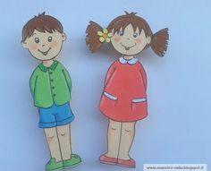 maestra Nella: Mollette appendi-schede...