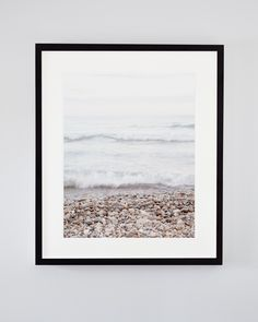 Calming beach photography of waves rolling up onto the pebble shore of Lake Huron in Bayfield, Ontario, Canada. Beach Photography, Fine Art Photography, Landscape Photography, Travel Photography, Secret Song, Nautical Prints, Lake Huron, Large Wall Art, Nature Pictures