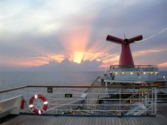 Carnival Valor - I used to see this shot pretty much everyday